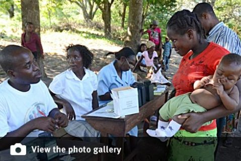 Model immunisation system sets standard for Mozambique